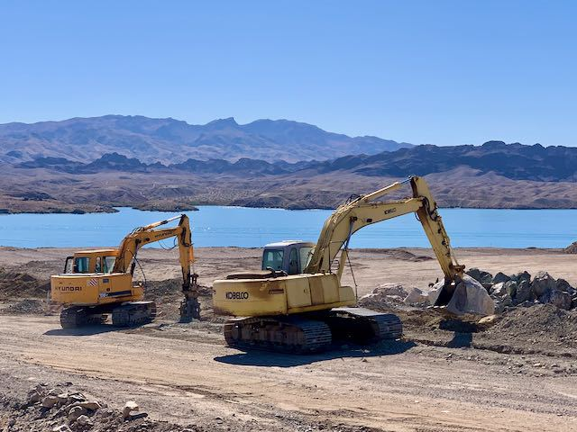 Construction Activity Underway at Havasu Riviera